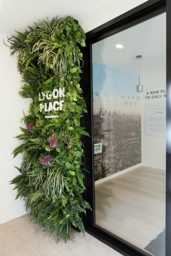 Artificial vertical garden savi communications