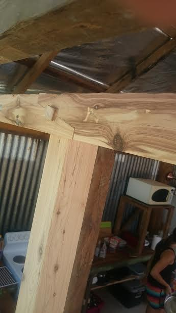 Main support beam with scarf joint finish2
