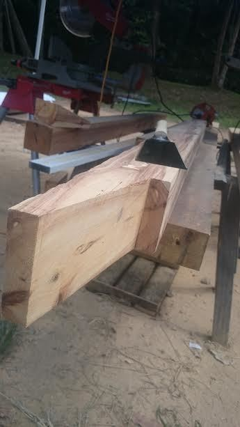 Scarf joint in progressview3
