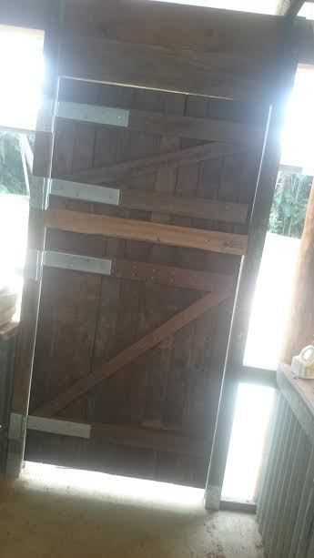 Camp kitchen stable door 3