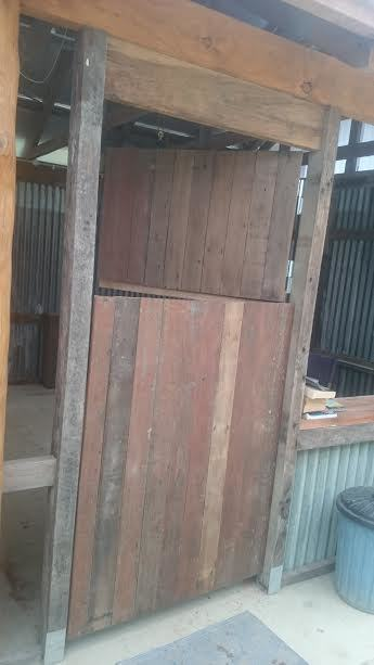 Camp kitchen stable door 5