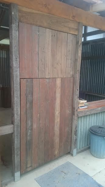 Camp kitchen stable door 6