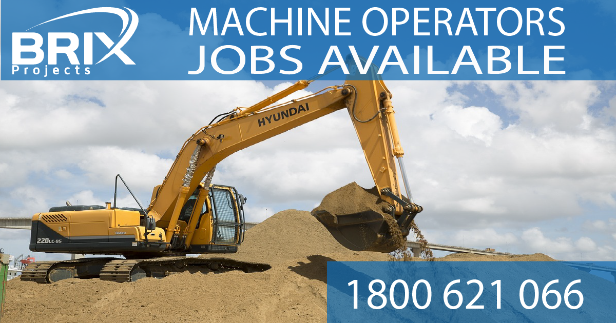 Machine operators ad