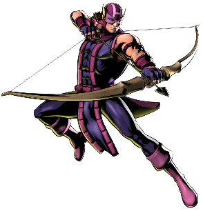 Hawkeye render by technospriter d4x367m