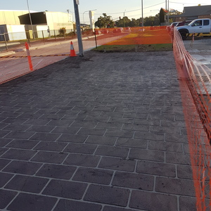 Commercial slab - Liverpool, NSW