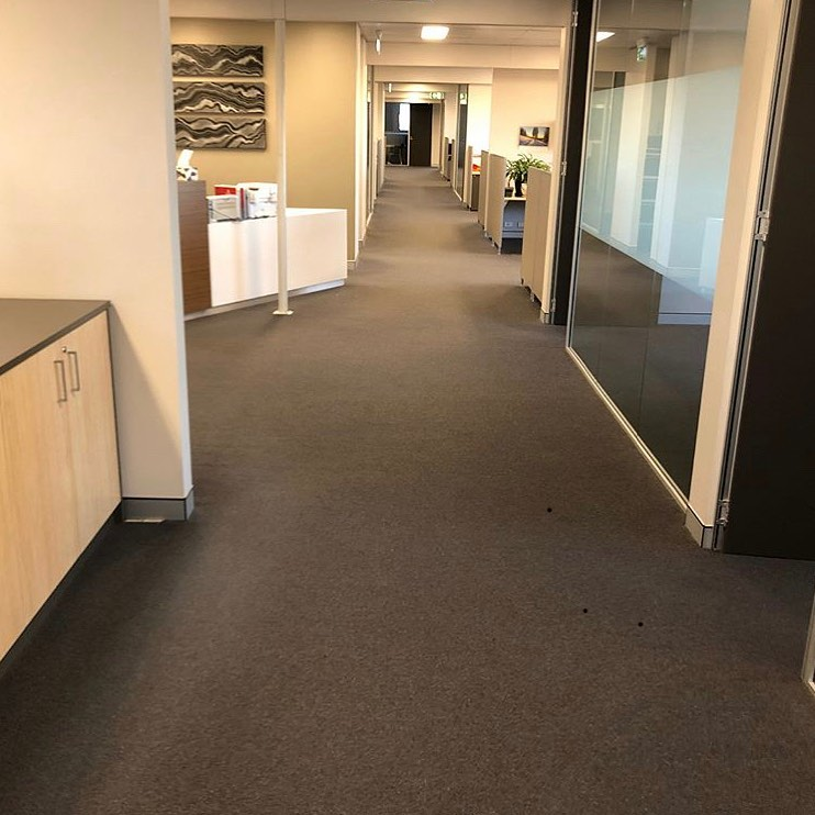 Quality office carpet upgrade from ConX subscriber @favouredflooring  They are using ConX to get fast and accurate quantities for jobs like this.. #conxjobs #flooringinstallation #estimating construction