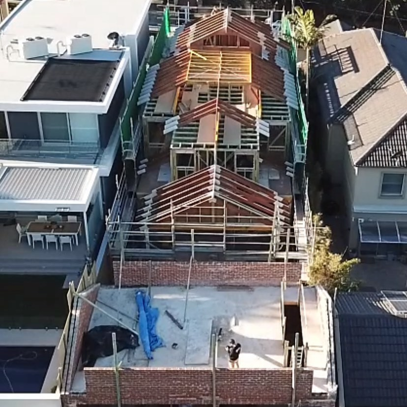 We love Hamptons @virtueprojects! Progress shot of our Torrington Rd Project. #virtuehomes #hamptonshouse #sydneybuilders