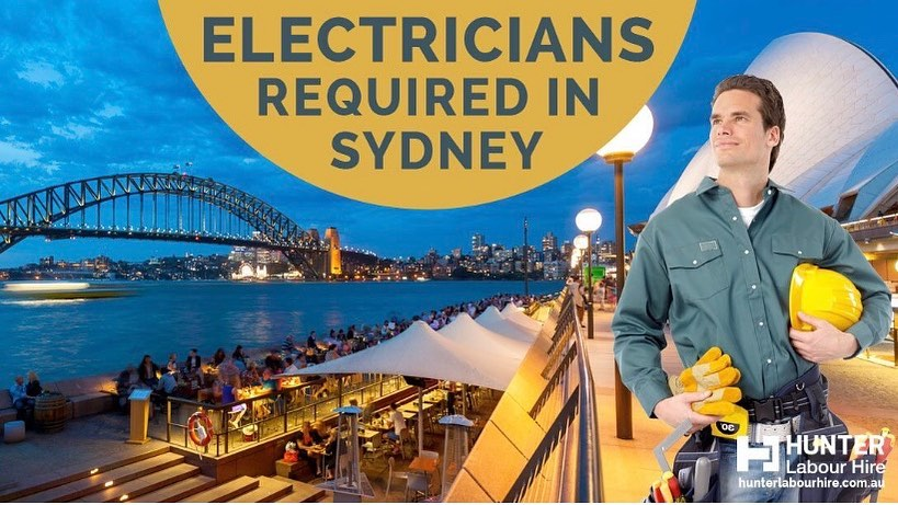 We're currently hiring for licensed and unlicensed electricians for immediate start in Sydney! Need electrical qualifications, white card and hand tools! Apply now to nigel@hunterlabourhire.com.au #electrician #electricaljobs #electricalwork #labourhire #construction #hlhgroup