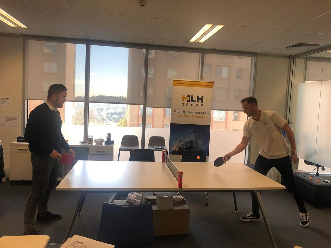 Well deserved Friday lunch break.  Game On !  #hunterlabourhire#hlhgroup #construction#labourhire #reliablelabour#sydney