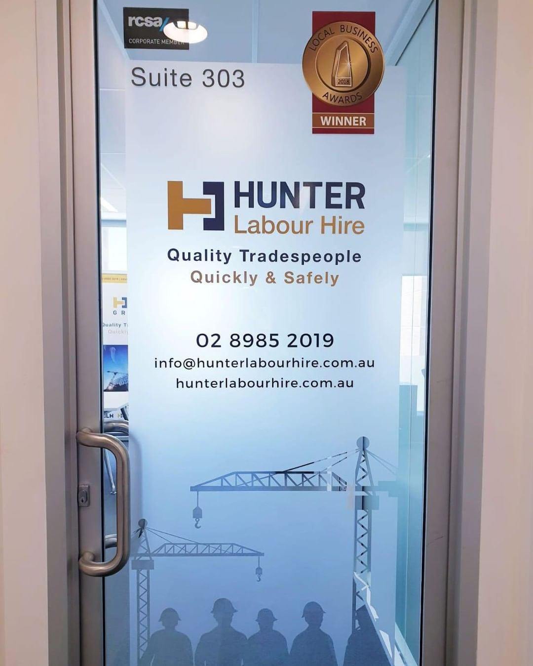 Don't be fooled by the photo, our door is always open. Come visit us at 303/360 Oxford St, Bondi Junction ___ Contact Hunter Labour Hire today! Telephone: (02) 8985 2019 Email: info@hunterlabourhire.com.au