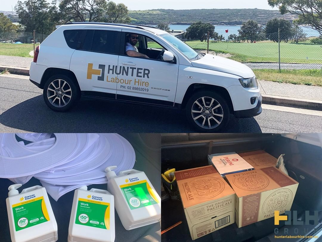 We are delivering the essentials to our crew on site needed to survive the Australian summer sun 😎  ___ Contact Hunter Labour Hire today! Telephone: (02) 8985 2019 Email: info@hunterlabourhire.com.au