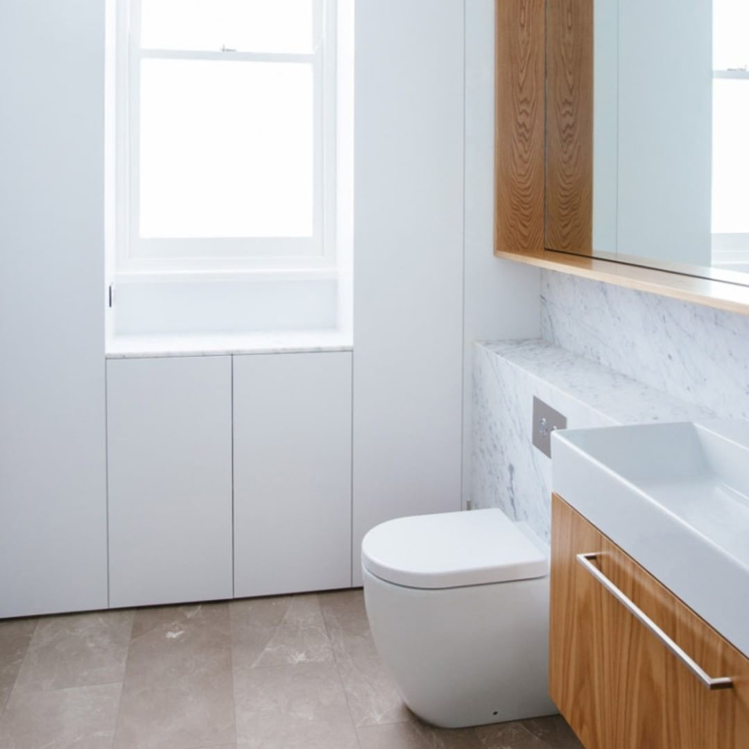 Creating openness in small spaces like bathrooms is a bit of an art. You need to balance functionality and aesthetics while maximising the physical space. Contact our team to find out how you can tackle your bathroom spaces with grace and ease ✨ #BuildYourDream #AJPconstructions #CLTexpert . . . . #sydneyboutiquebuilder #CLT #renovationadditionspecialist #sydneybuilder #archdaily #australianarchitecture #sydneyarchitecture #crosslaminatedtimber #bathroominspo #marble #modernbath